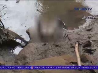 Jasad Bayi Perempuan Ditemukan Mengambang di Kali Angke