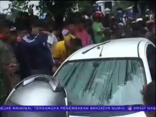 Seorang Mayat Wanita Ditemukan dalam Bagasi Mobil