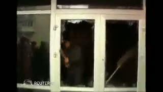 Ngeri, Wanita Pendemo Diberondong Tembakan di Ukraina