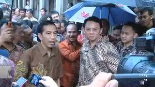 Ikut Blusukan Jokowi, Ahok: Kalau Panas, Item Saya