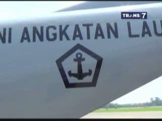 3 KRI Arungi Selat Malaka Mencari Malaysia Airlines yang Hilang