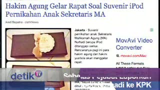Sebelas Pejabat Laporkan Souvenir Ipod Nurhadi ke KPK
