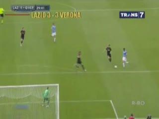 Lazio Bermain Imbang 3-3 Lawan Verona