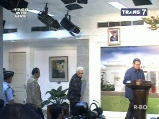 Presiden SBY Pilih Chairul Tanjung Sebagai Menko Perekonomian
