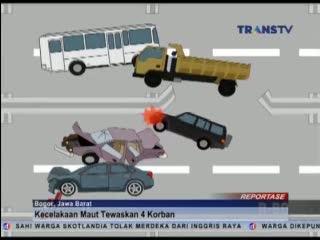 Kronologi Kecelakaan Maut di Jagorawi