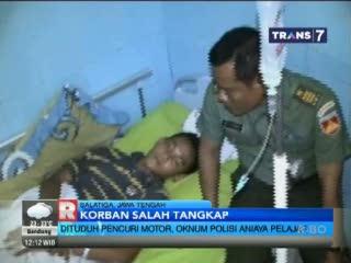 Salah Tangkap, Empat Oknum Polisi Aniaya Pelajar SMP