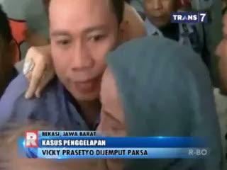 Baru Hirup Udara Bebas, Vicky Prasetyo Kembali Dijemput Paksa Petugas