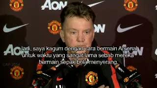 Van Gaal Kagum Gaya Bermain Arsenal