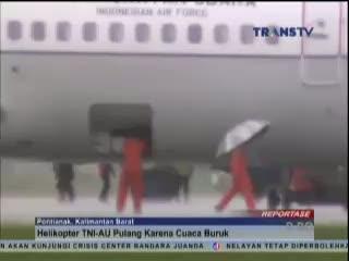 Cuaca Kurang Besahabat, Pencarian AirAsia Dihentikan Sementara
