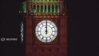 Pesta Kembang Api Spektakuler di London