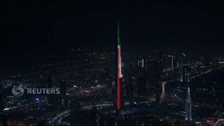 Perayaan Tahun Baru Termewah Sejagat di Burj Khalifa
