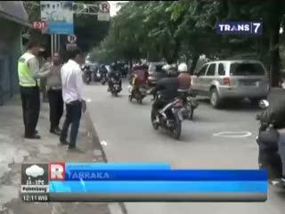 Polisi Gelar Olah TKP di Jalan Arteri Pondok Indah