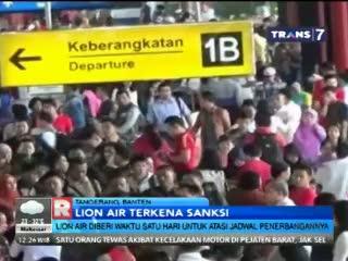 Lion Air Diberi Waktu Satu Hari untuk Atasi Jadwal Penerbangannya