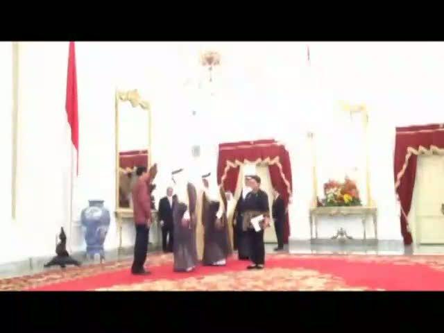 Bahas Kerjasama Minyak, Perusahaan Arab Saudi Bertemu Jokowi