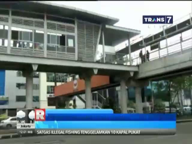 Petugas Transjakarta Tewas Tersengat Listrik