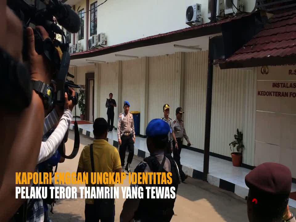 Kapolri Enggan Ungkap Identitas Pelaku Teror Thamrin yang Tewas
