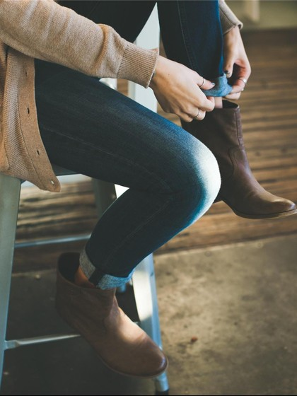 Image result for Kaki Lecet Saat Pakai Ankle Boots