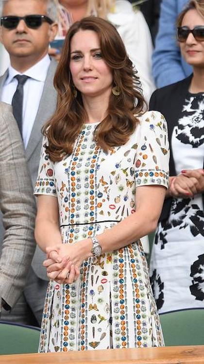 Foto: Intip Deretan Gaya Stylish Kate Middleton di Wimbeldon 1