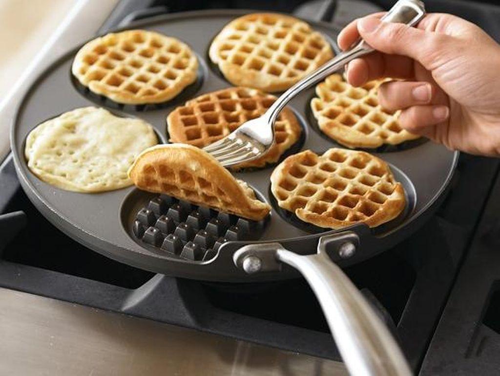 Agar Tak Membosankan, Sajikan Waffle dengan 8 Cara Kreatif Ini (2)