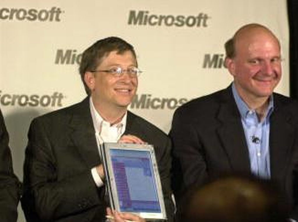 7. Steve Ballmer (kanan) - USD 30 miliar - Microsoft. Foto: Getty Images