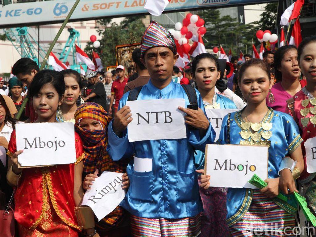 Toleransi keberagaman terus disuarakan. Selain acara ToleRun yang digelar hari ini di sekitaran Gelora Bung Karno (GBK), ada pula karnaval Cinta NKRI.