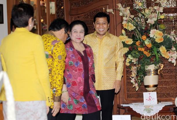 Setya Novanto Sambangi Kediaman Megawati