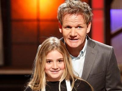 Urusan Memasak Gordon Ramsay Juga Bersikap Keras pada Putrinya