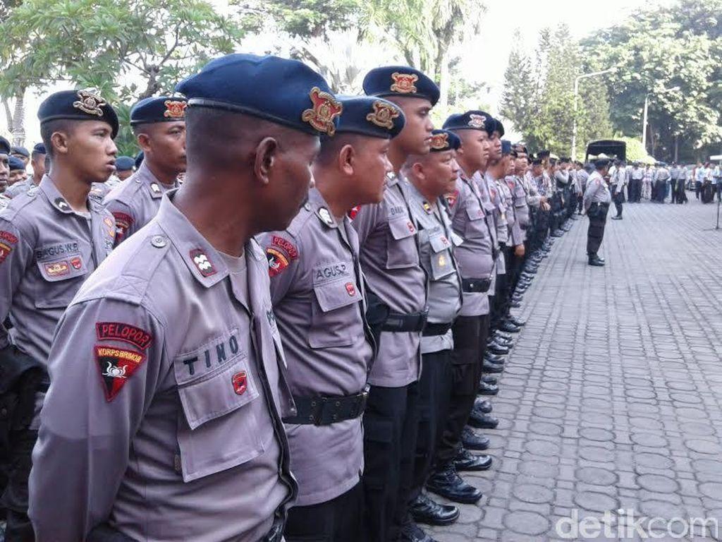 Amankan Hari Buruh, Polrestabes Surabaya Siapkan 2 Ribu Personel