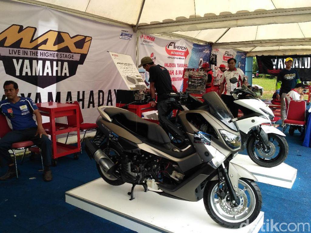 Motor paling laris keempat Yamaha NMAX mencapai31.295 unitFoto: Yamaha