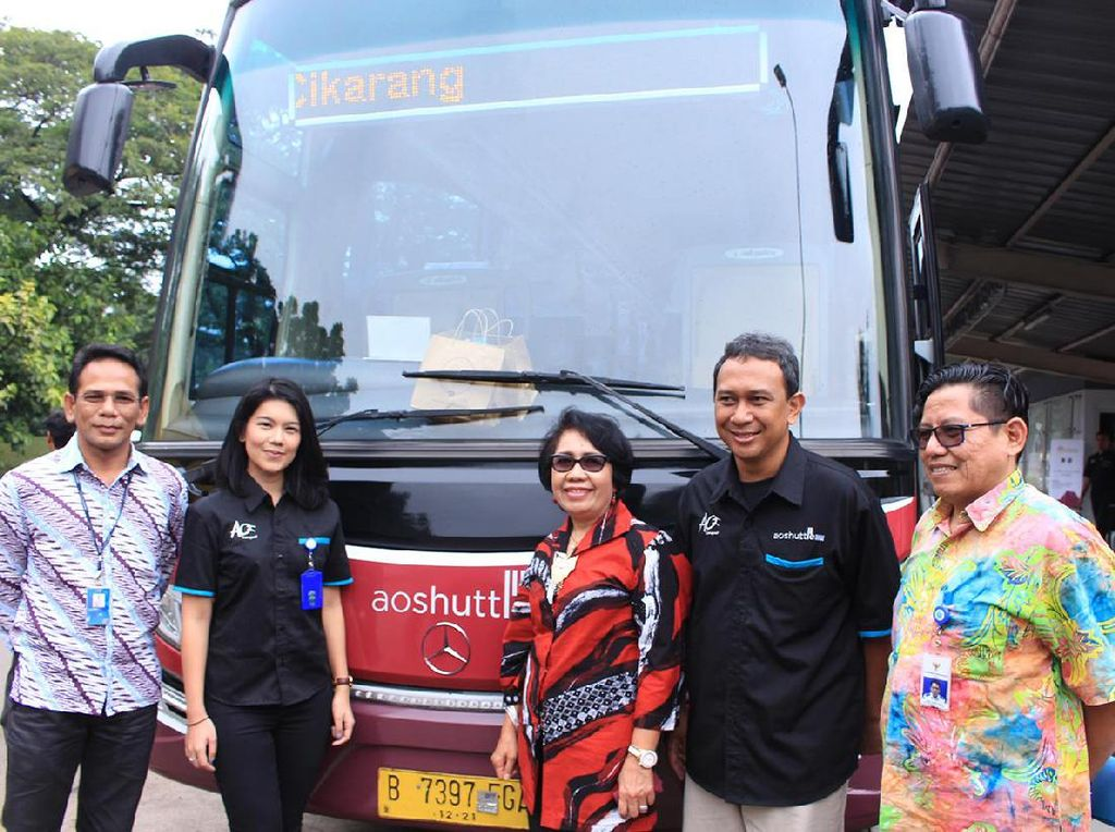 Lippo Cikarang Luncurkan Bus Jabodetabek Residence Connexion