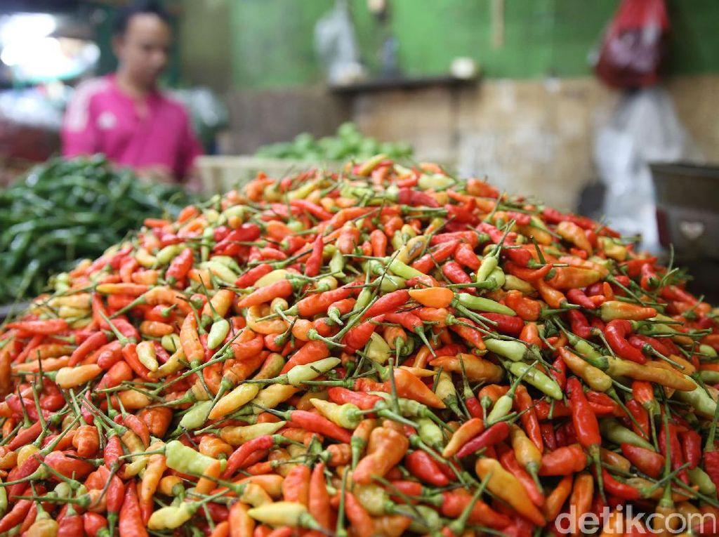 Harga cabai rawit merah masih bertahan di atas Rp 100.000 dalam beberapa pekan terakhir.