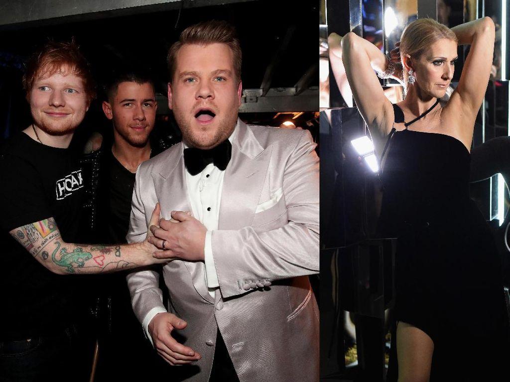 Momen-momen Lucu di Backstage Grammy 2017