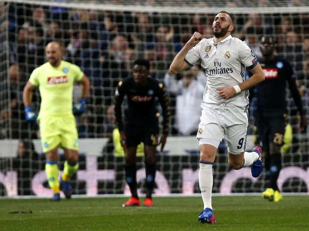 Madrid Tundukkan Napoli 3-1