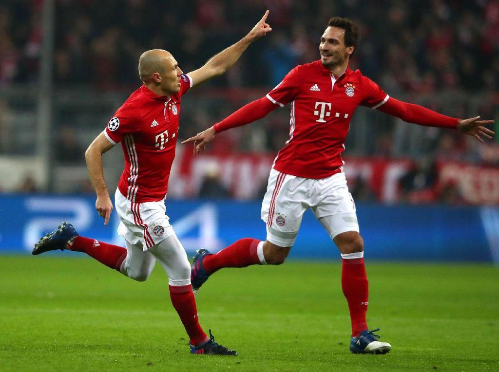 Bayern Gilas Arsenal 5-1