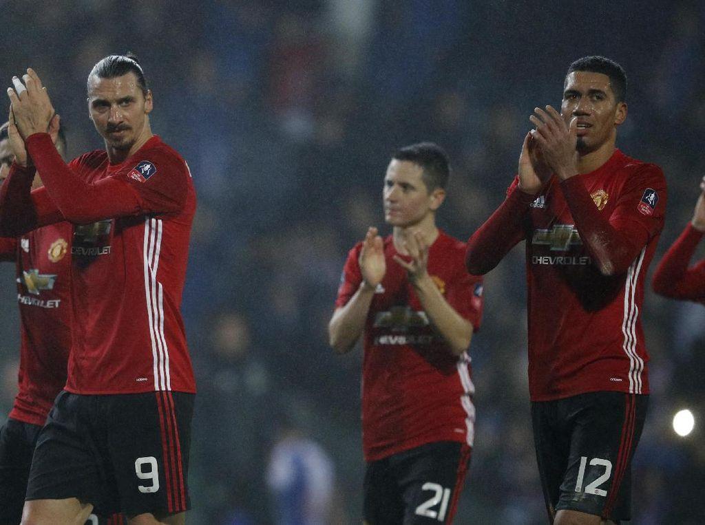 MU Melaju ke Babak Delapan Besar Piala FA