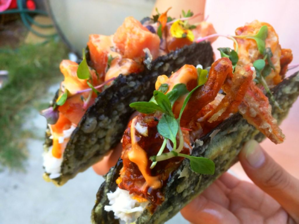Nyam! Sushi Nori Tacos, Sushi dan Taco Gurih Dalam Satu Suapan