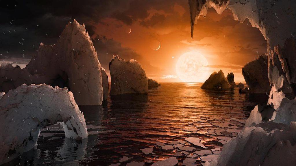 Ditemukan 7 Planet Seukuran Bumi di Luar Tata Surya!