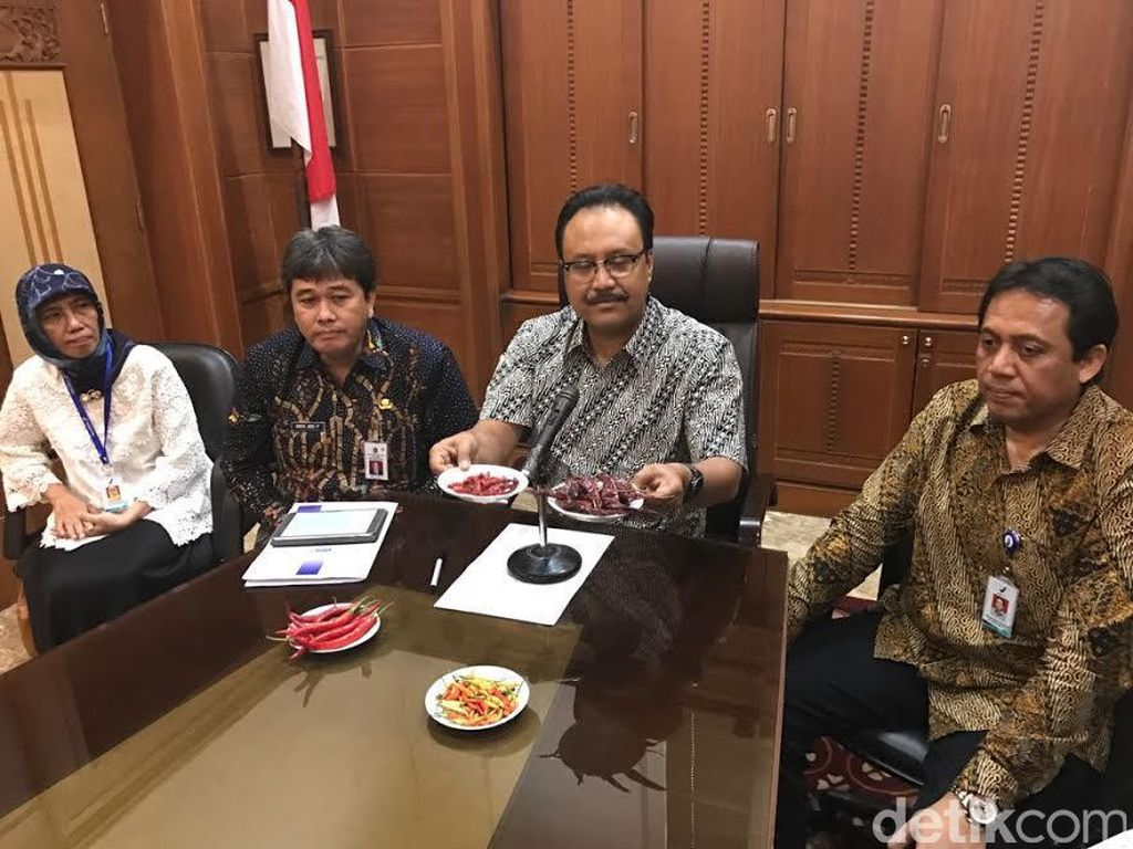 Hasil Uji Lab BBPOM, Cabai Impor di Jatim Aman Dikonsumsi