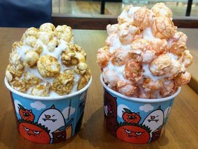 Es Krim Lembut Bertabur Popcorn Renyah Bisa Dinikmati di 5 Gerai Ini