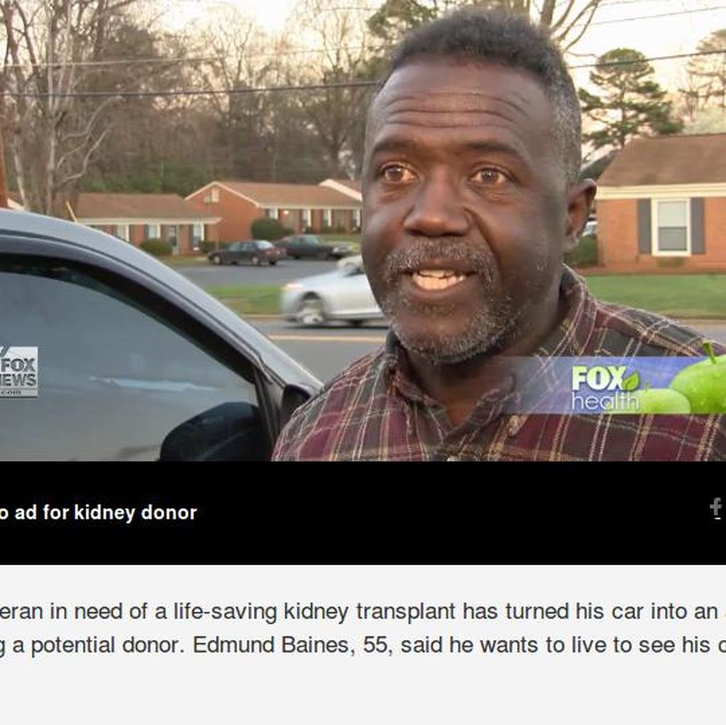 Kisah Kakek Jadikan Mobilnya Iklan Keliling Demi Dapat Donor Ginjal