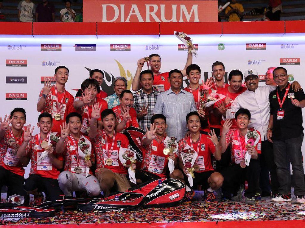 Musica Champions Juara Superliga Badminton 2017