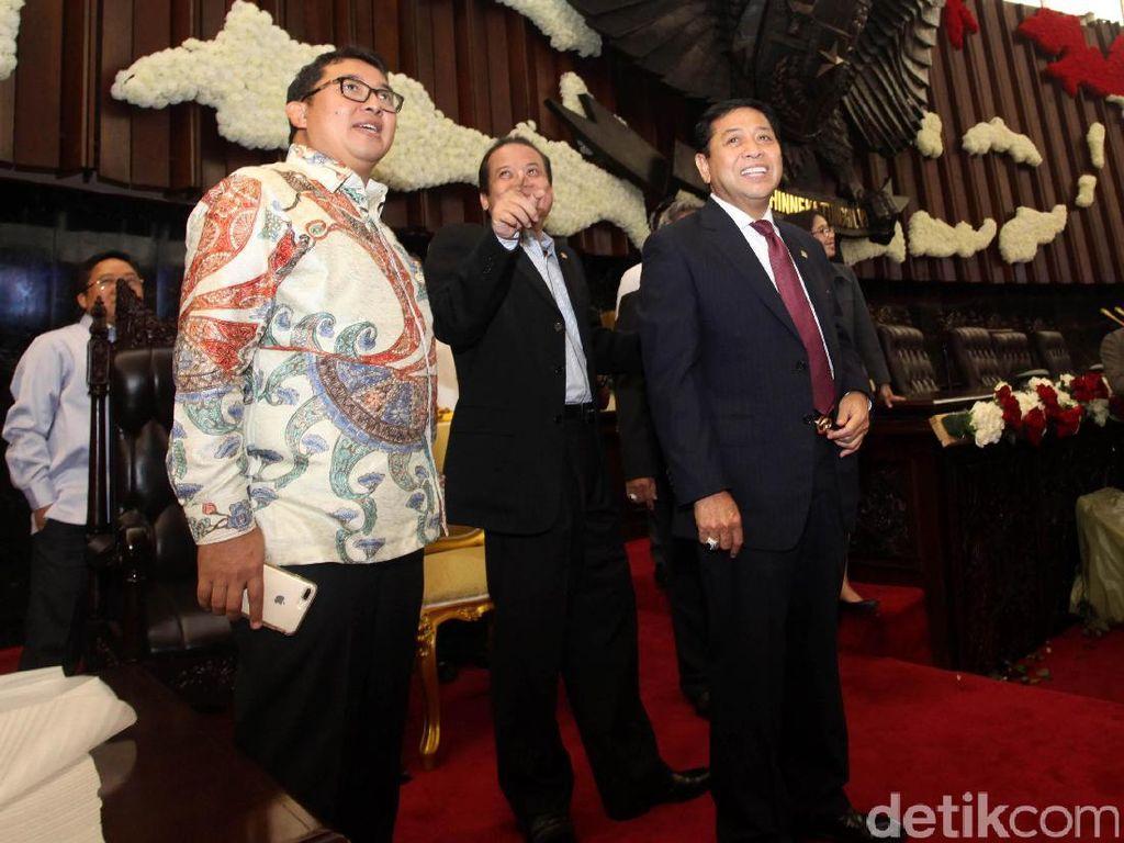 Ketua DPR Cek Persiapan Menyambut Raja Salman