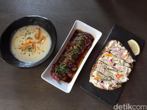 Enaknya Seafood Risotto dan Ikan Toothfish Saus Mangga di Resto Prancis Ini