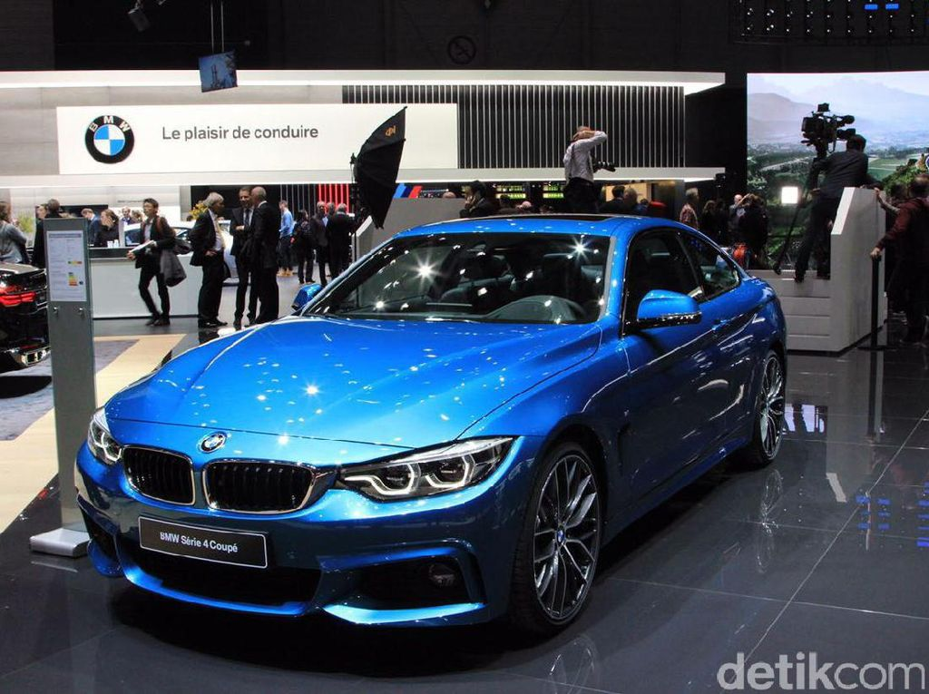 Tampilan Baru BMW Seri 4