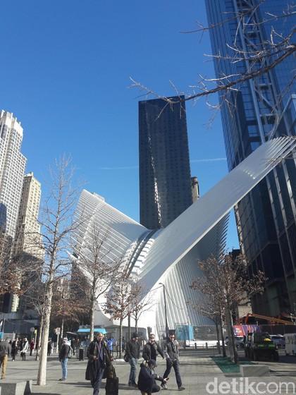 Pengalaman Napak Tilas di Memorial 9/11, New York City yang Bikin Merinding