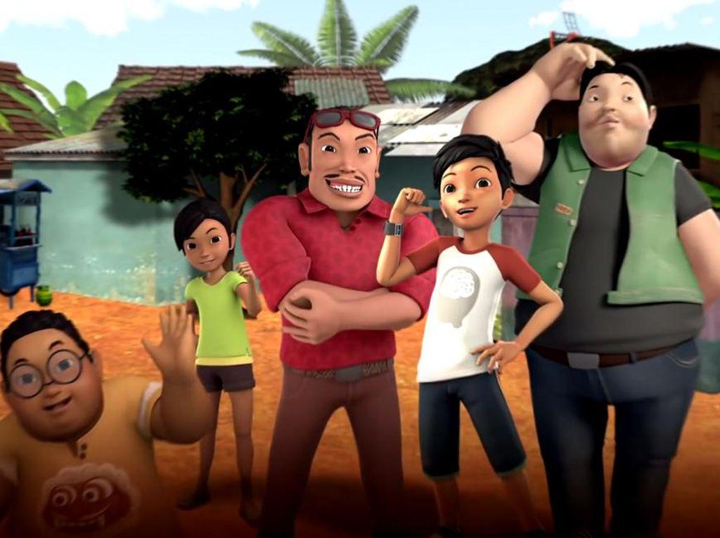 Adit Sopo Jarwo merupakan salah satu animasi karya anak bangsa di bawah tim MD Animasi. (Dok. Trans TV)