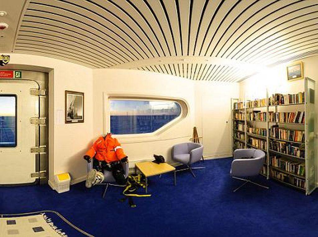 Ruang untuk membaca. Foto: dailymail