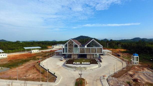 Begini Megahnya Pos Perbatasan RI-Malaysia