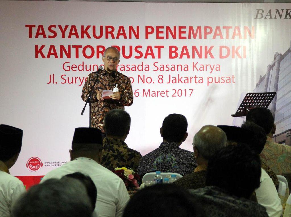 Laba Bank DKI per 31 Desember 2016 tercatat sebesar Rp 645 miliar. (Foto: dok Bank DKI)