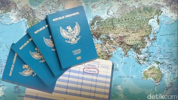 Syarat Rp 25 juta Bikin Paspor